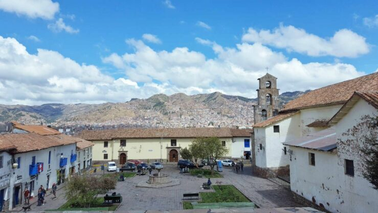 Cusco central square