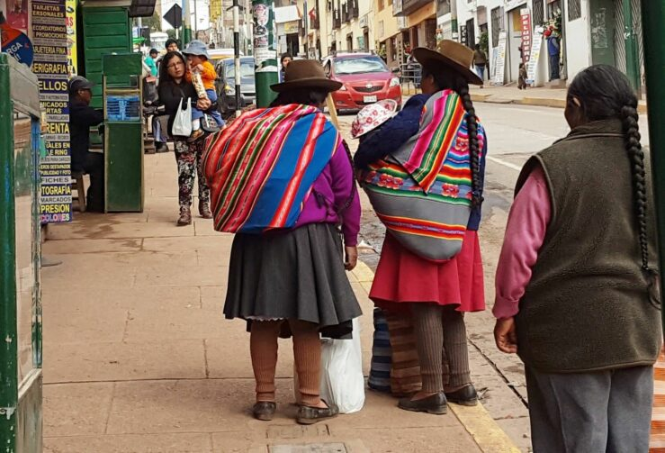 Streets in Cusco hotel Peru