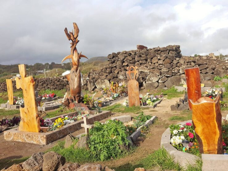 Easter Island moai statues, Rano Raraku, Orongo, Rano Kau