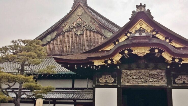 The Ninomaru Palace, Nijo Castle - by train from Tokyo to Kyoto