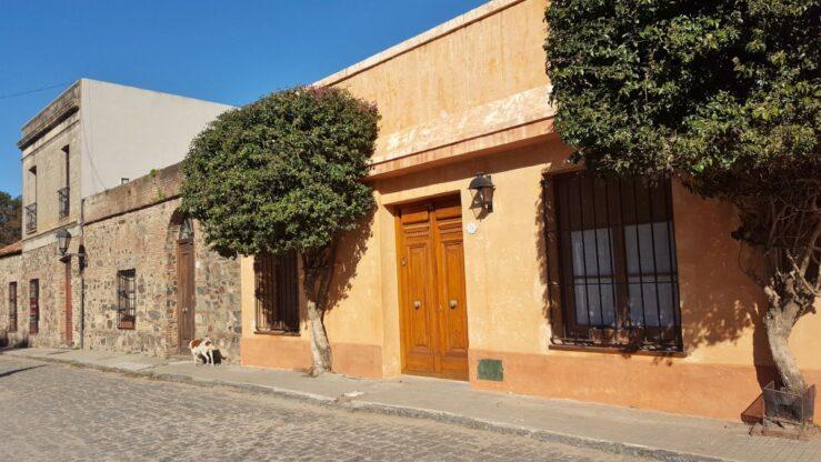 Colonial style in Colonia del Sacramento, Uruguay