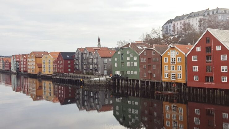 Trondheim on Arctic Circle trip in Norway