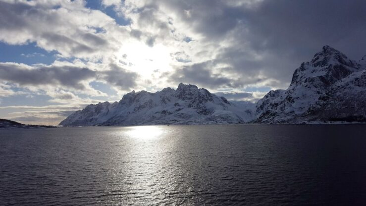 MS Nordnorge Arctic Circle Norway