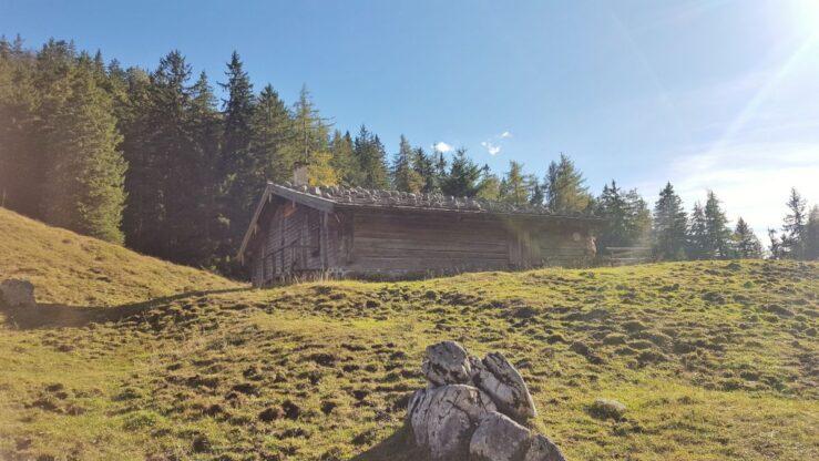 Hiking Bavarian Alps Halsalm