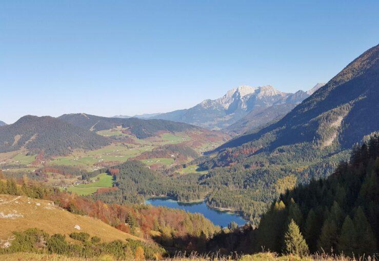 Hiking Bavarian Alps Hintersee