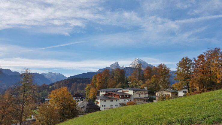 View of Salzbergwerk Berechtesgaden