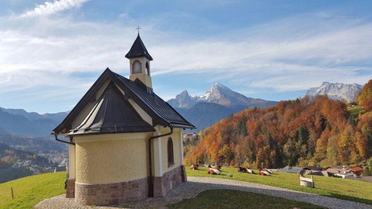 church near Salzbergwerk Berchtesgaden