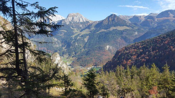 Bavarian Alps mountain views