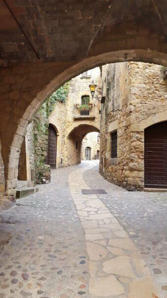 Dalí museum in Figueres medieval Catalan Spain Calonge market