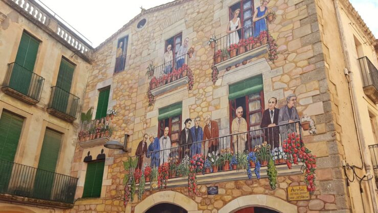 Calonge medieval Catalan Spain