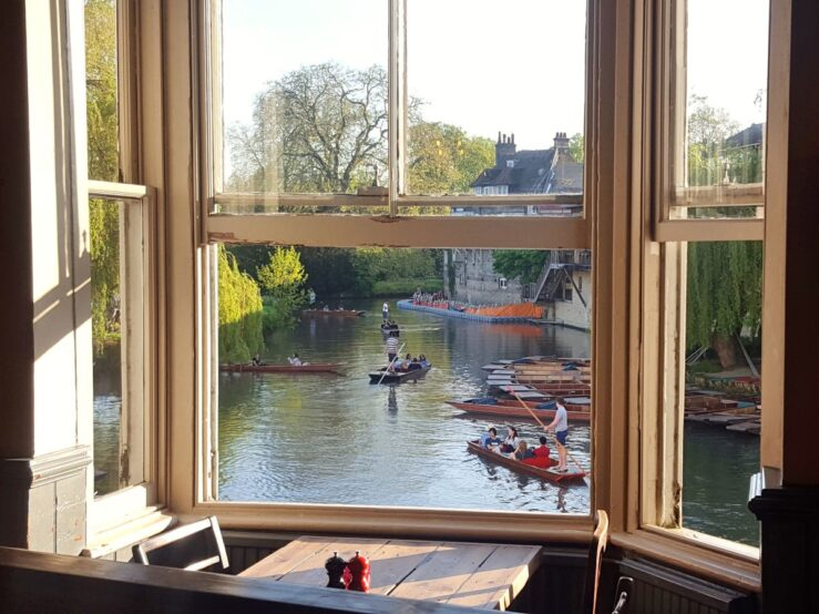 Punting guide River Cam Scudamore's
