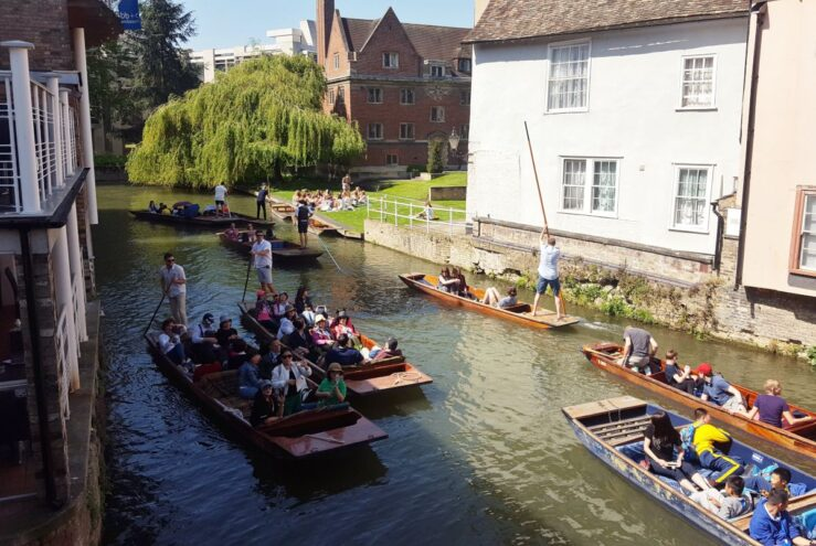 Punting guide River Cam Scudamores Scudamore's