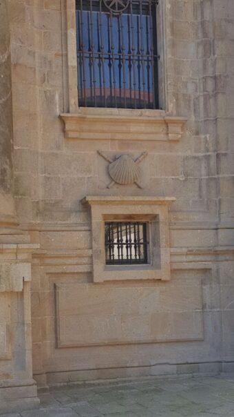 Santiago de Compostela Cathedral scallop shell