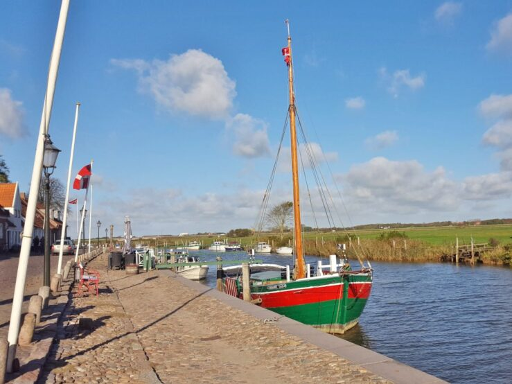 Visit Ribe in Denmark Wadden Sea harbour