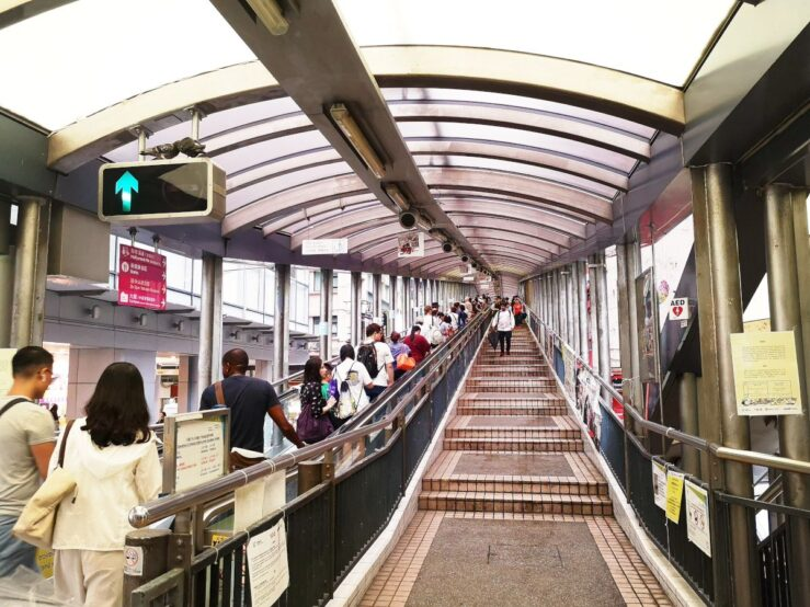 World's longest escalator