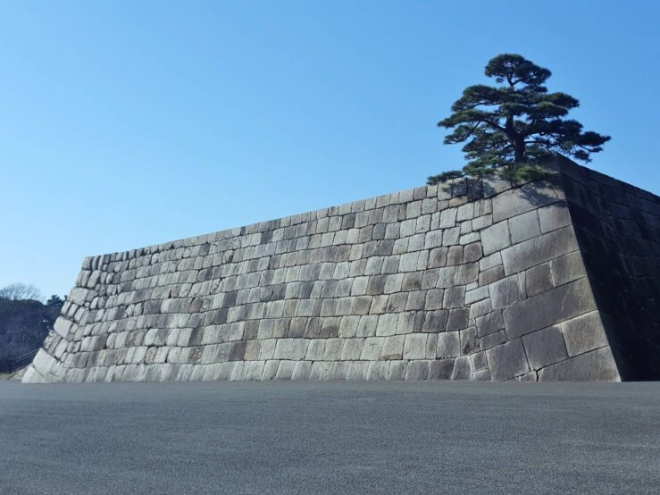 Old Tokyo history -Imperial Palace East Gardens