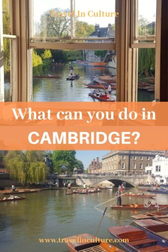 Punting Guide to the River Cam – Scudamore's, Pub and Tea