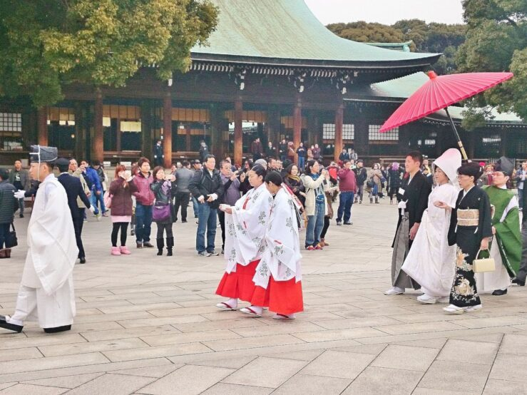 Old Tokyo history Meiji Jingu shrine