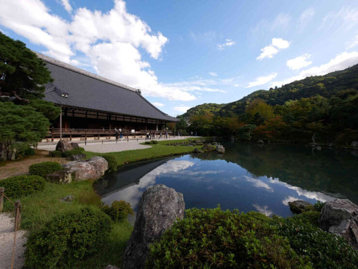 Tenryuji - temples and shrines Kyoto