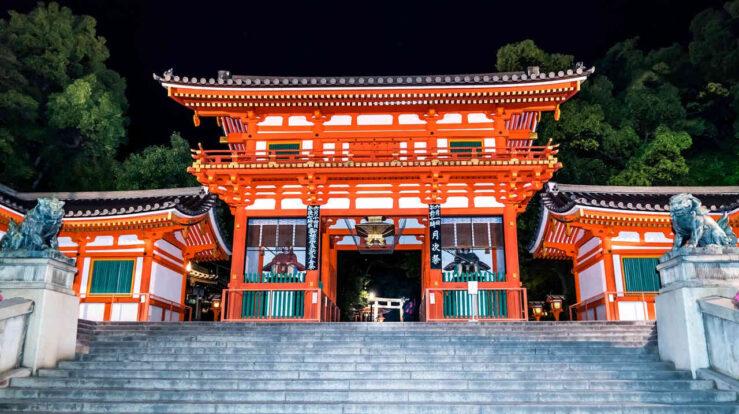 Yasaka - must-see temples and shrines Kyoto