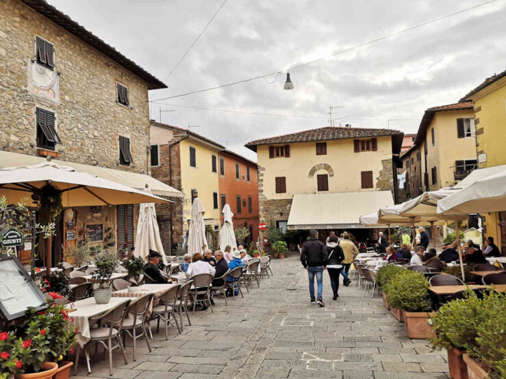 Day trip or trips from Florence in Tuscany to Montecatini Alto