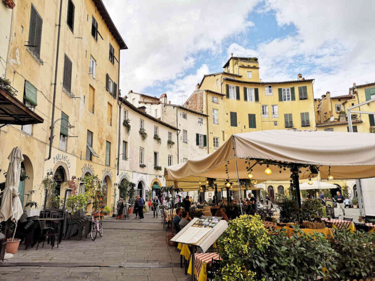 day trips from Florence in Tuscany - Lucca