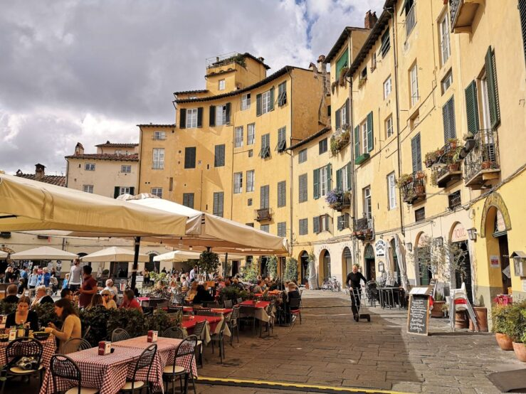 Tuscan town Lucca