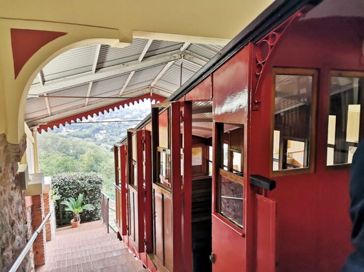 Train to the mountain - funicular