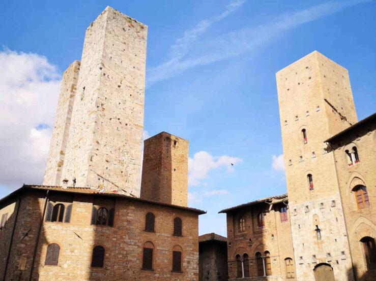 skyline Tuscany
