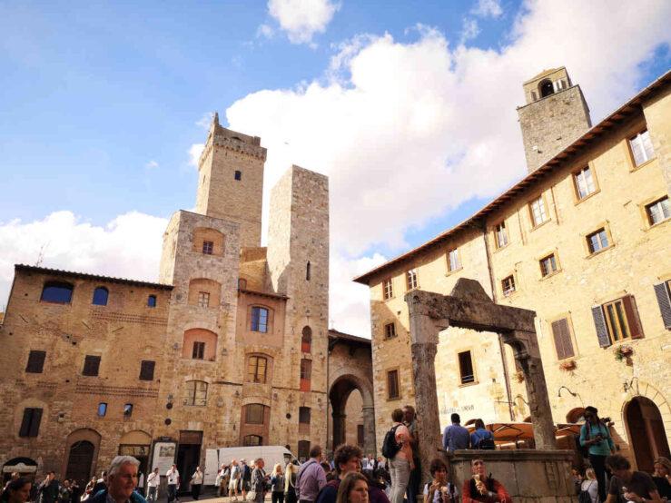 San Gimignano Italy medieval towers