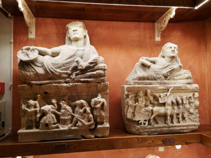visit Volterra - villages in Tuscany Etruscan museum