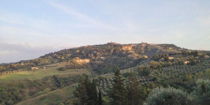 visit Volterra - villages in Tuscany landscape
