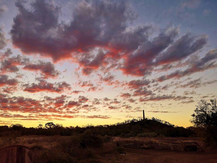 Southern hemisphere sky