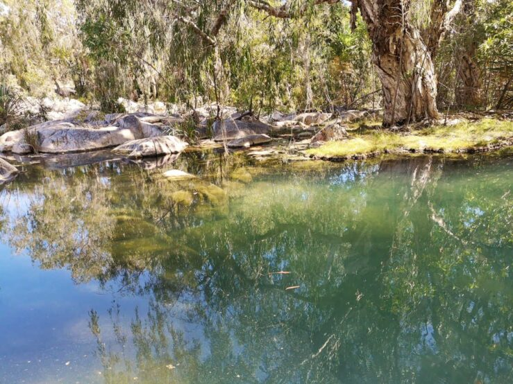 Australia's outback billabong