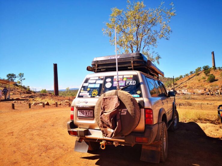 4x4 Chillagoe Smelters