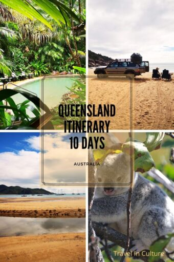 Itinerary Queensland in Australia 10 days