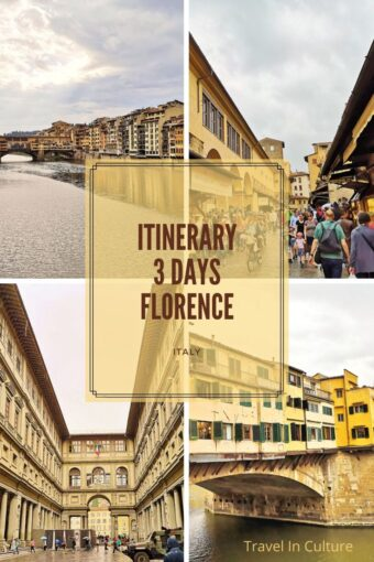 what are the best things to see and do in Florence in 3 days
