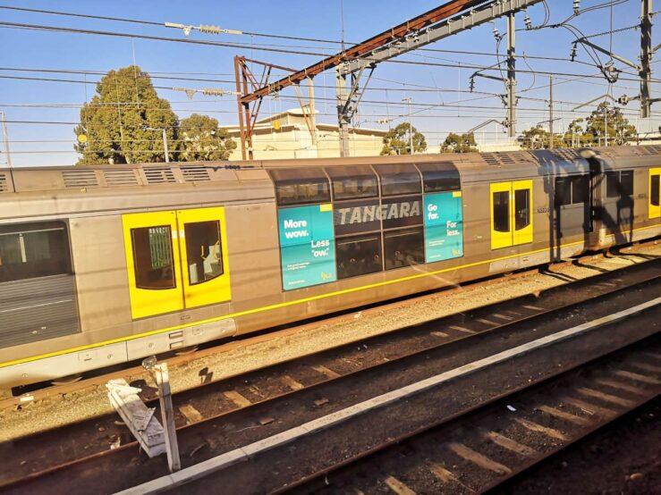 train from Sydney