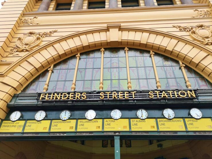 Things to do in Melbourne Victoria Flinders Street Station