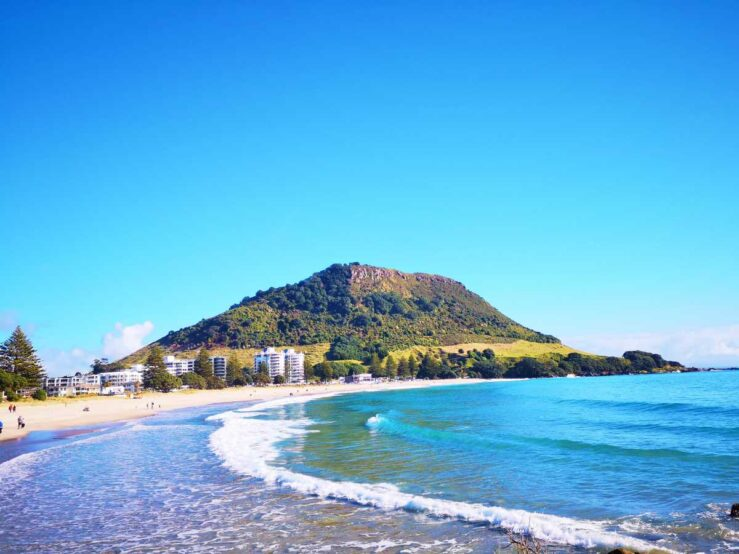 Cities Things to Do on New Zealand North Island Mount Maunganui
