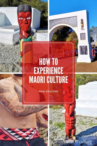 Maori Culture, People and Tattoo Language in New Zealand