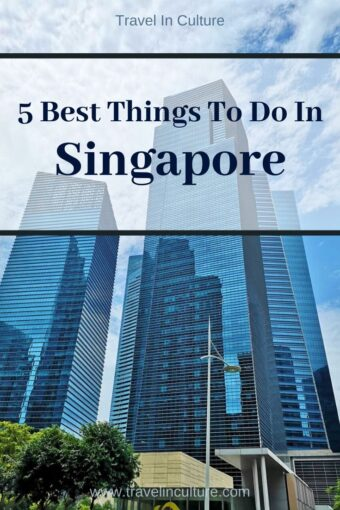 Things to Do in Singapore - Tourist Attractions