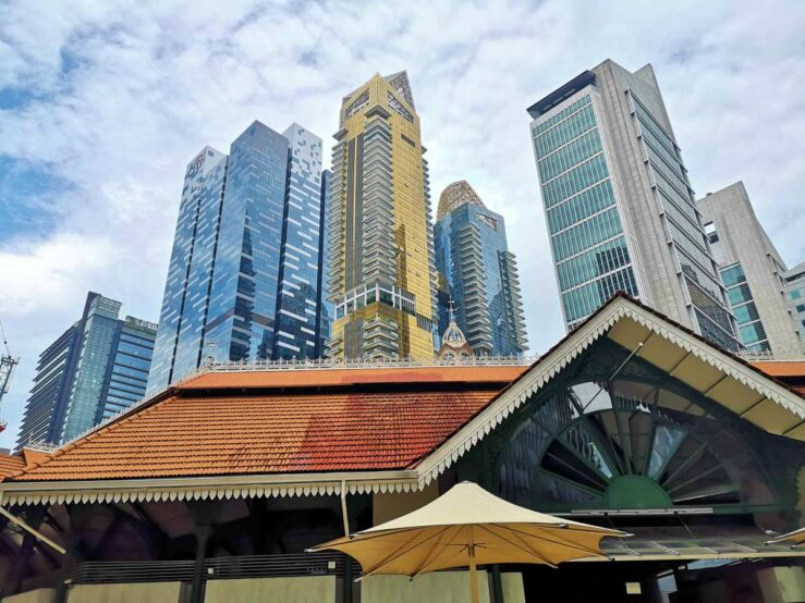 Things to Do in Singapore - Tourist Attractions - Lau Pa Sat
