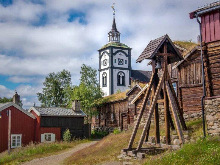 Røros Norway mining town - Roros
