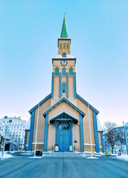 Tromso Norway Cathedral