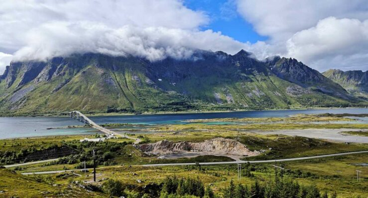 Svolvær Lofoten Islands in Norway